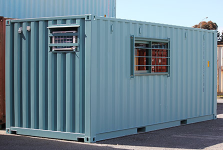 Container modification   Customised containers, container