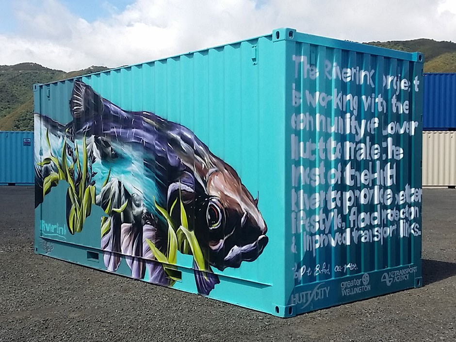 Container modification | Customised containers, container