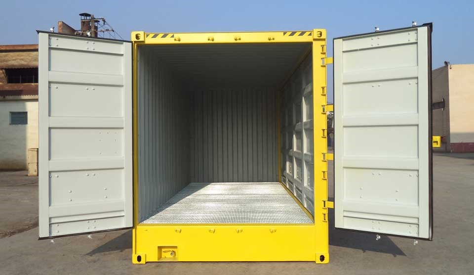 61m 20ft hazardous goods storage container with side doors Boxman