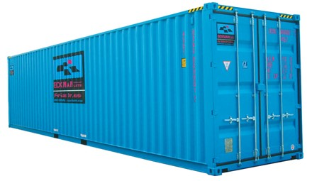 12 2m 40ft High Cube Shipping Container With Doors Both