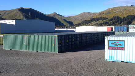 Boxman Storage Christchurch